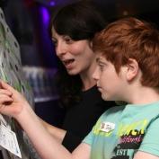 London, United Kingdom - Saturday 21 June 2014, LBTH - Families and Aspirations workshop at the Cutting East Film Festival, Genesis Cinema.